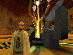 Half Life Dreamcast Screenshot