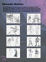 Castlevania Resurrection Dreamcast Guide collector Sketches.png