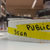 """SEGA pubicité Megadrive """"SEGA c'est plus fort que toi""""bobines 35 mm boîte 11 photo 30"""