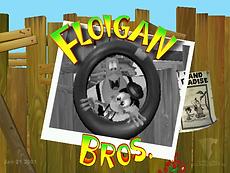 Florigan Brothers Dreamcast GD-R main menu.png