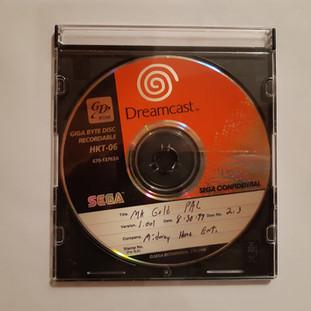 Mortal Kombat Gold sega dreamcast prototype