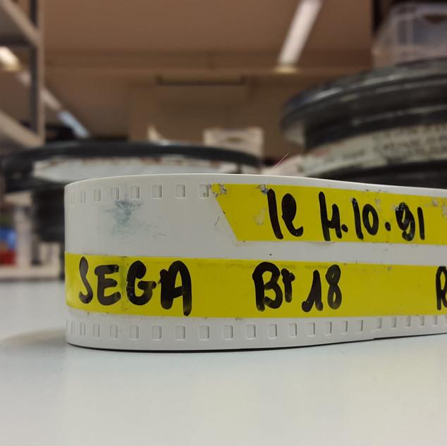 """SEGA pubicité Megadrive """"SEGA c'est plus fort que toi""""bobines 35 mm boîte 11 photo 10"""