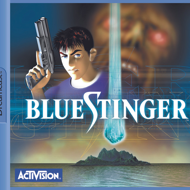 Kit Presse Multimédia Dreamcast Blue Stinger