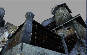 Agartha Dreamcast Maison vu du sol