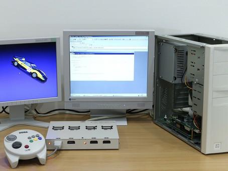 Un Kit de développment Sega Dreamcast SET 4 sur la toile !