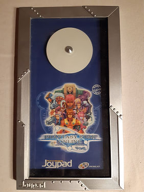"""Joypad cadre cadeau aux édieur """"Phantasy Star Online"""" Dreamcast"""