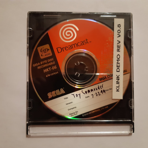 Toy Commander sega dreamcast prototype