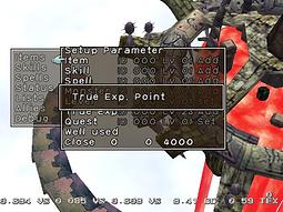 Time Stalkers Dreamcast Debug Menu proto