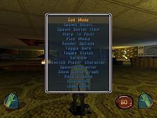 MDK 2 Dreamcast prototype debug menu