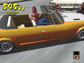 Crazy Taxi Dreamcast beta mode camera replay