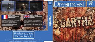 SEGA Dreamcast prototype Cover Agartha