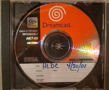 Half Life Dreamcast prototype