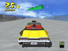 Crazy Taxi Dreamcast prototype crazy box