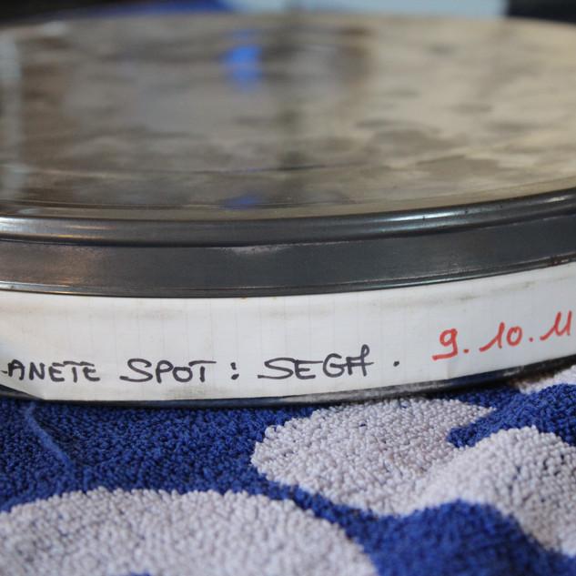 """SEGA pubicité Megadrive """"SEGA c'est plus fort que toi""""bobines 35 mm boîte 13 photo 1"""