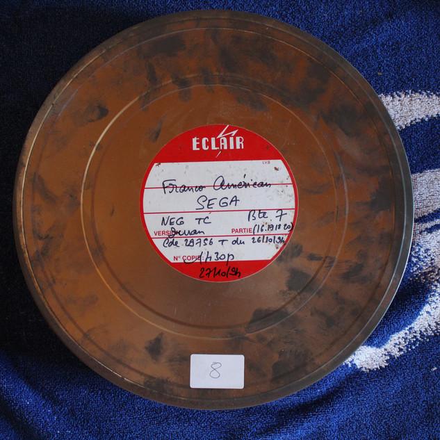 """IMG_538SEGA pubicité Megadrive """"SEGA c'est plus fort que toi""""bobines 35 mm boîte 1 photo 10.JPG"""