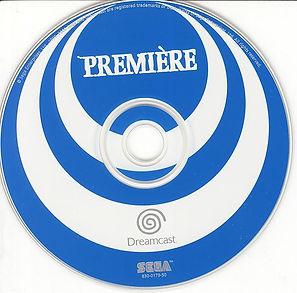 CD disque première dreamcast