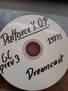Unreleased Dalforce X.O.P sega dreamcast prototype
