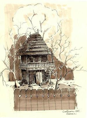 Agartha dreamcast maison croquis