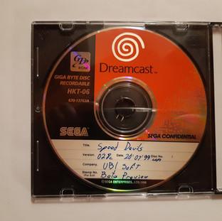 Speed Devil sega dreamcast prototype