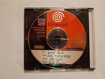 Speed Devils dreamcast GD-R, prototype, beta