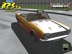 Crazy Taxi dreamcast prototype Camera mode