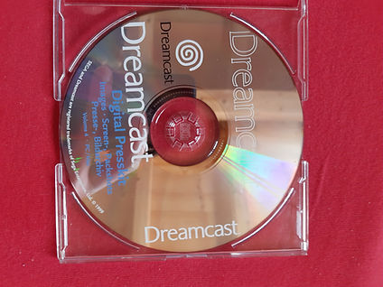 German Dreamcast Digital Press kit CD