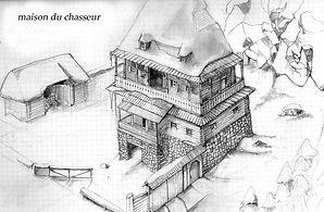 esquisse Agartha dreamcast maison
