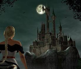 Castlevania Resurrection Dreamcast château