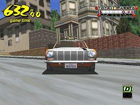 Crazy Taxi Dreamcast prototype Camera capôt