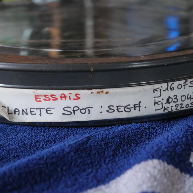 """SEGA pubicité Megadrive """"SEGA c'est plus fort que toi""""bobines 35 mm boîte 23 photo 1"""