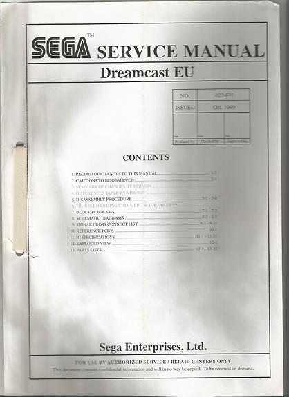 SEGA Dreamcast Europe Service Manual.png