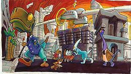 Fur Figthers Dinotopolis Dreamcast