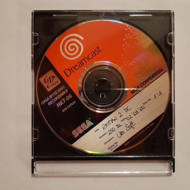 Rayman 2 sega dreamcast prototype