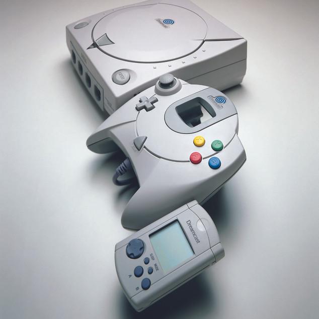 Kit Presse Multimédia Dreamcast console