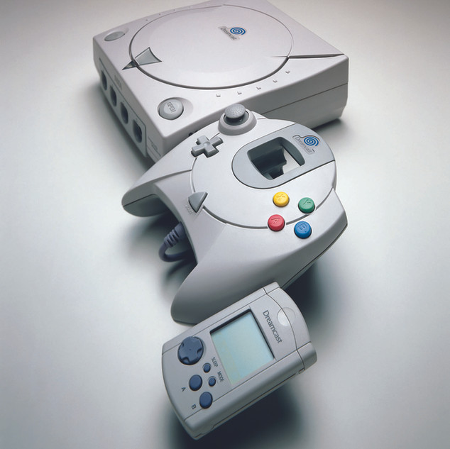 Kit Presse Multimédia Dreamcast console