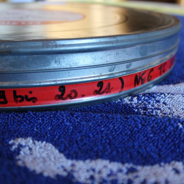 """SEGA pubicité Megadrive """"SEGA c'est plus fort que toi""""bobines 35 mm boîte 4 photo 1"""