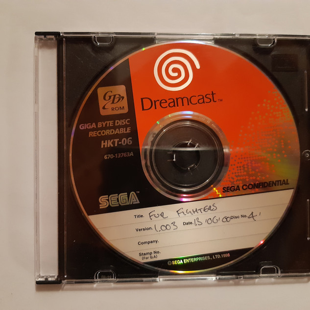 Fur Fighters sega dreamcast prototype
