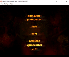 Ring The Legend of Nibelungen Dreamcast menu