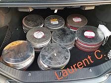 Pubs Sega rush bobines 35 mm