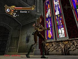 Castlevania Resurrection Dreamcast vitrail