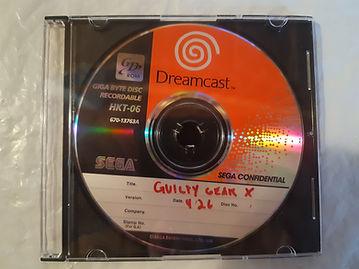 Guilty Gear X dreamcast beta