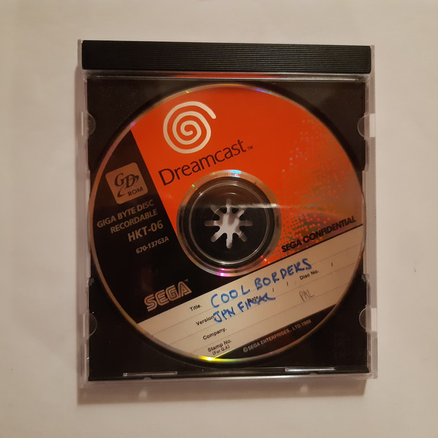 Cool Boarders sega dreamcast prototype