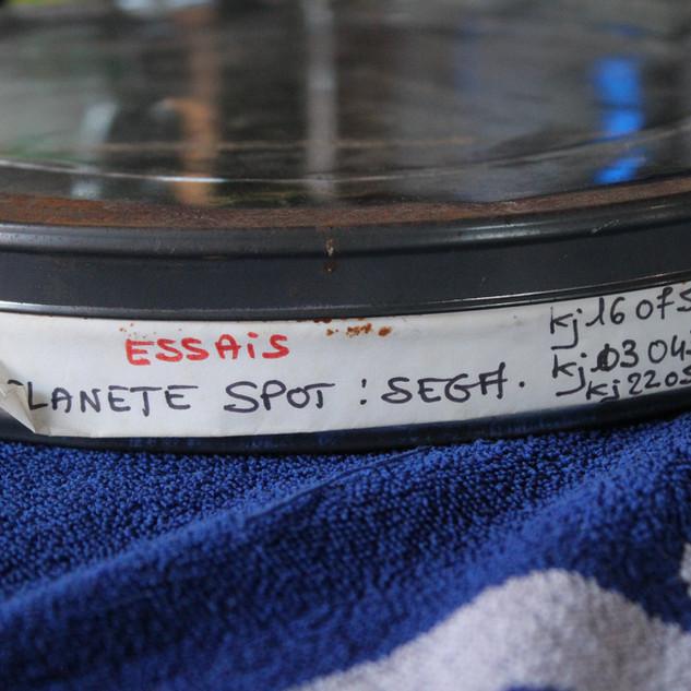 """SEGA pubicité Megadrive """"SEGA c'est plus fort que toi""""bobines 35 mm boîte 22 photo 1"""