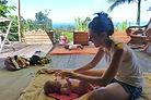 mini cure bien naître : massage de la femme enceinte et post natal