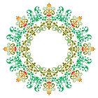logo prana zen (mandala)