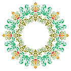 logo prana zen (mandala) ayurvedique massage guadeloupe