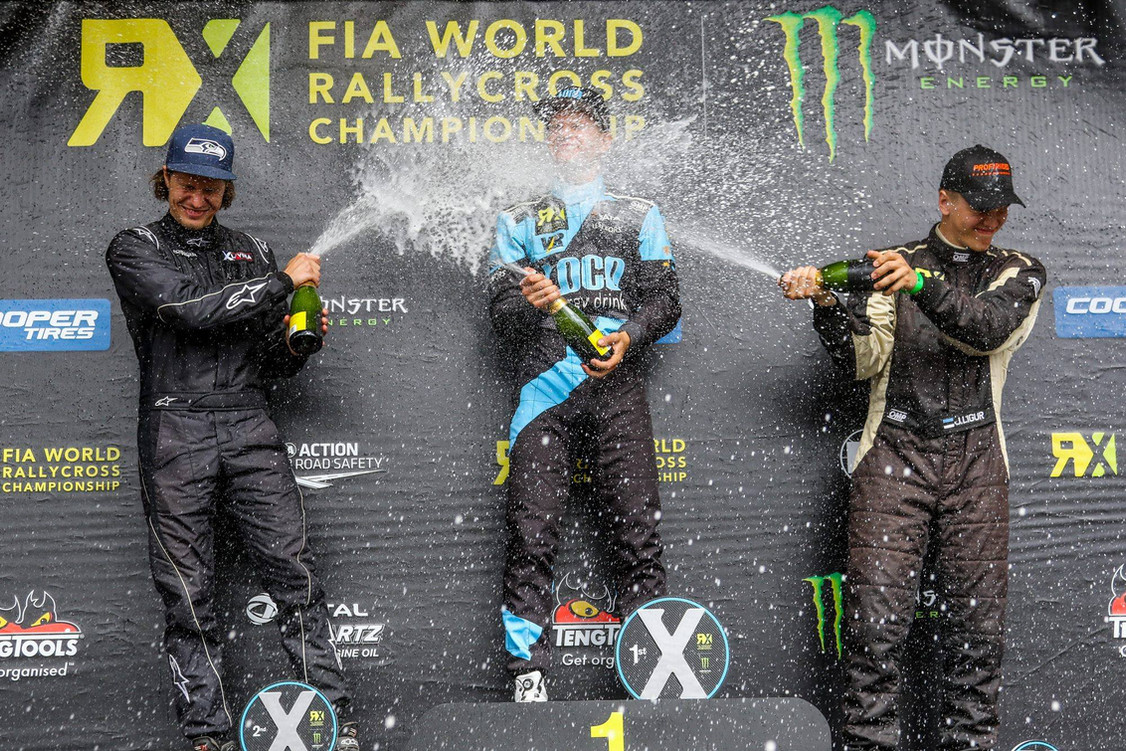 World Rallycross Podium