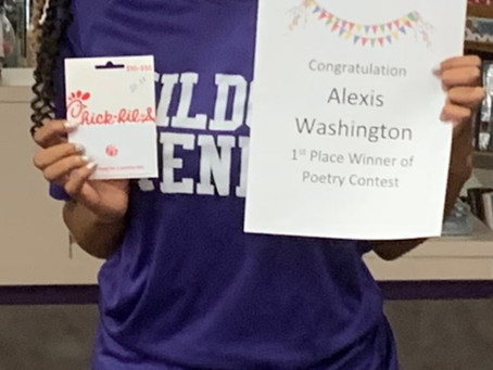 HHS Library Poetry Contest Winner!