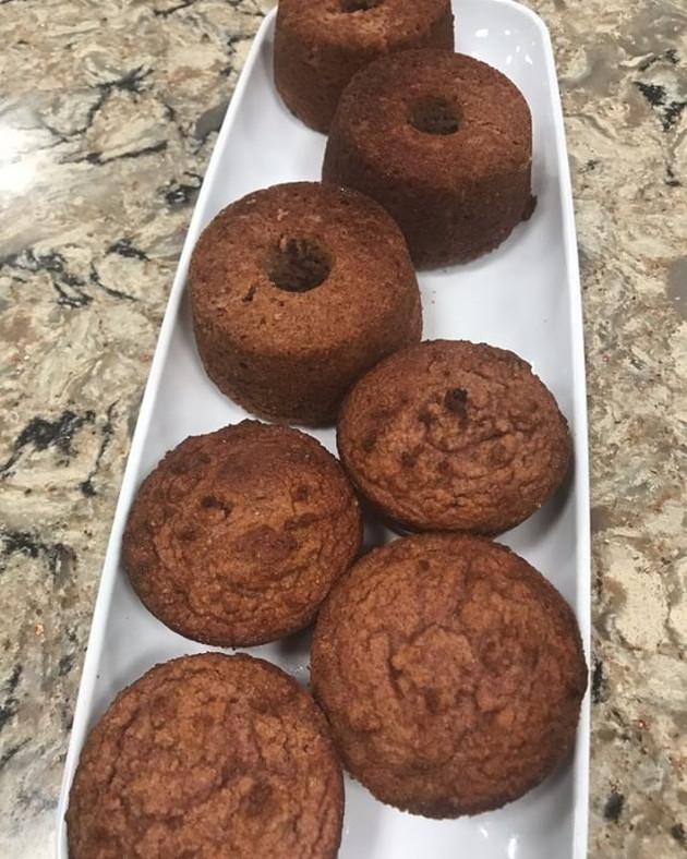Keto Cinnamon Crumble Donuts & Keto cranberry Cookies