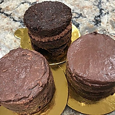 Keto Ding Dong Chocolate Cake Delight